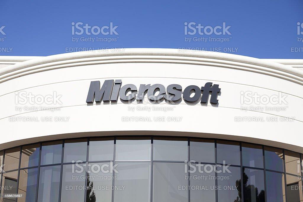 Microsoft-Mountain View royalty-free stock photo