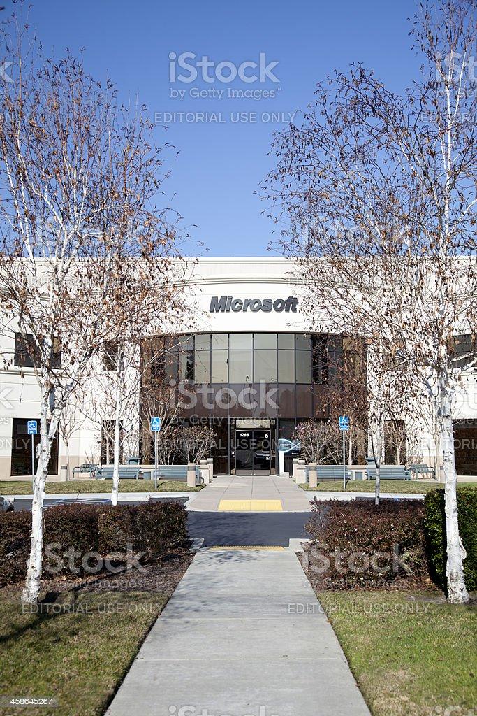 Microsoft-Mountain View stock photo