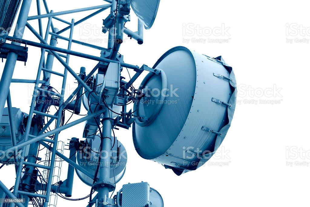 Microwave Antenna stock photo