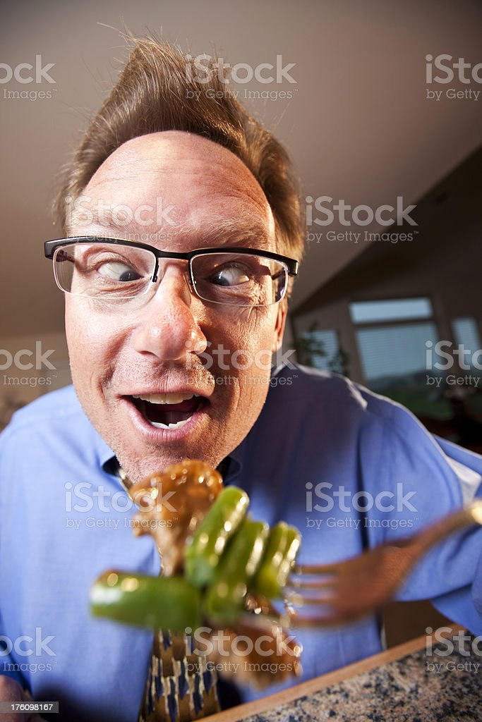 Microwave dinner royalty-free stock photo
