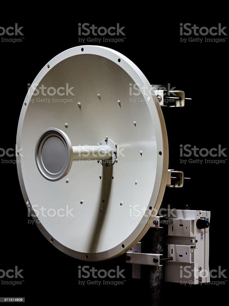 Microwave Dish stock photo