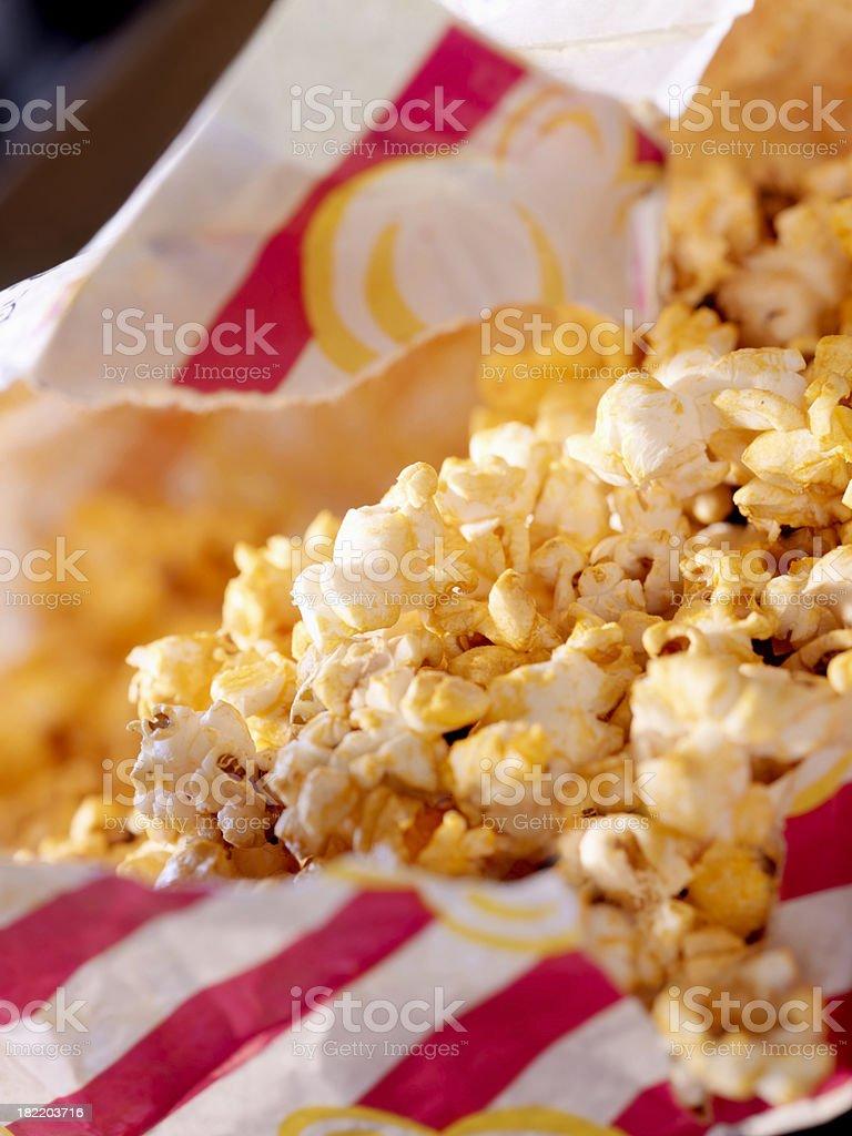 Microwave Popcorn stock photo