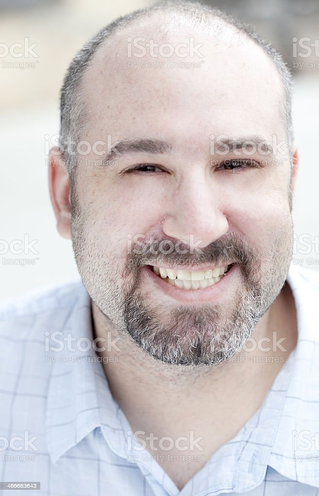 Mid Adult Canadian Man Portrait stock photo