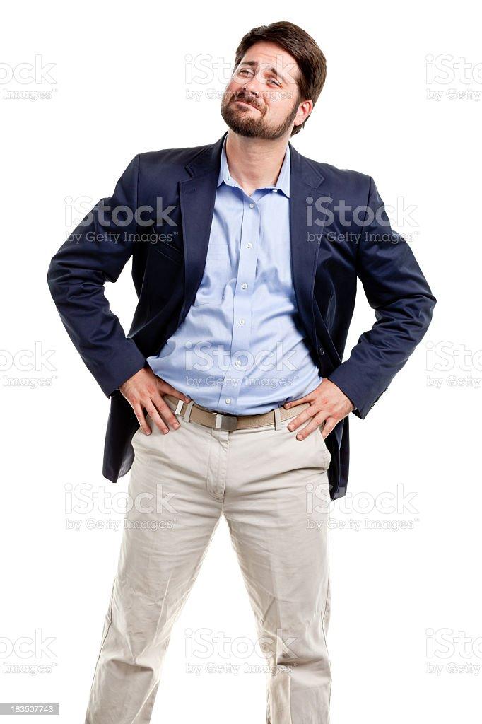 Mid Adult Male Portrait stock photo