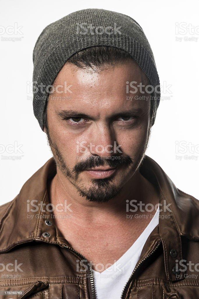 Mid adult man headshot royalty-free stock photo