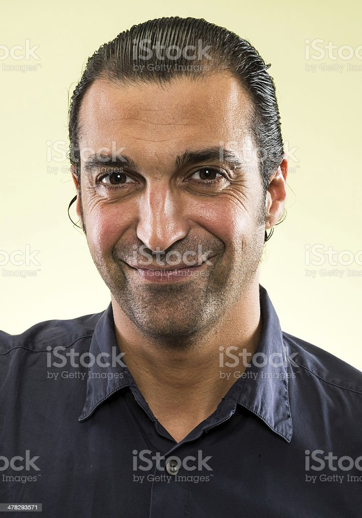 Mid adult man royalty-free stock photo