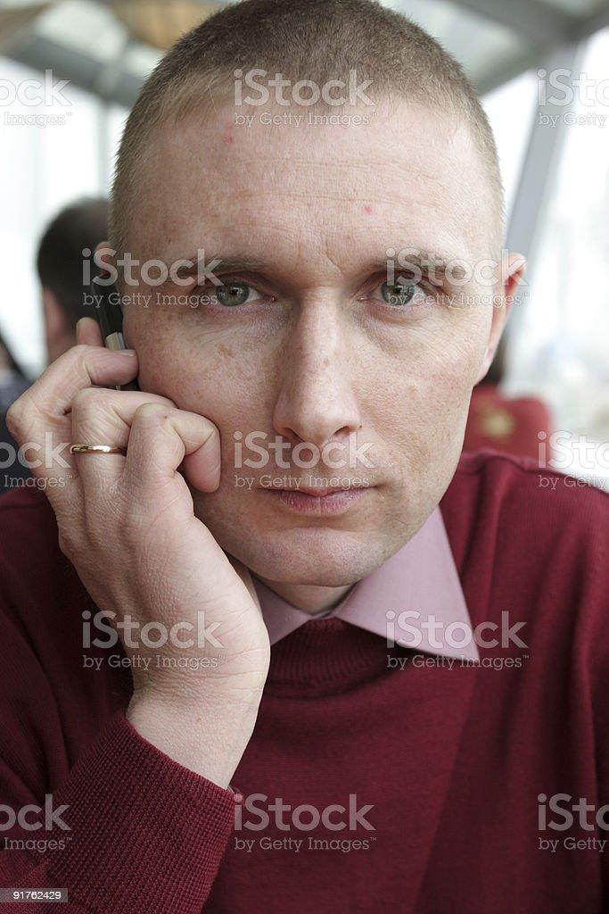 Mid adult man royalty-free stock photo