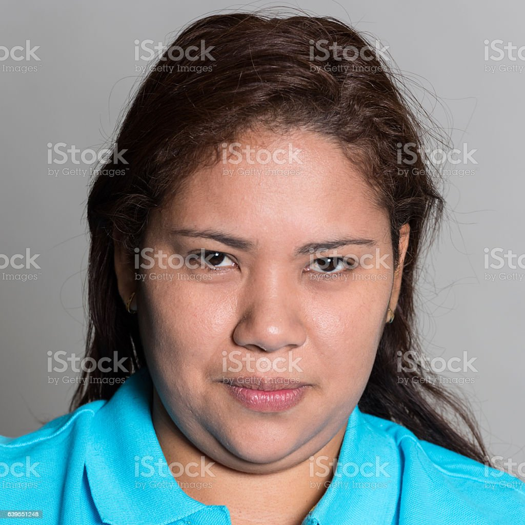 Mid adult woman stock photo