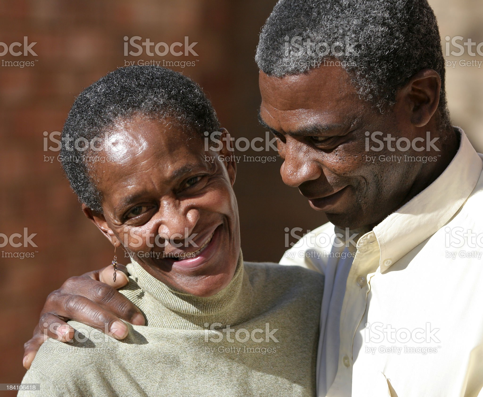 Mid Aged Tenderness royalty-free stock photo
