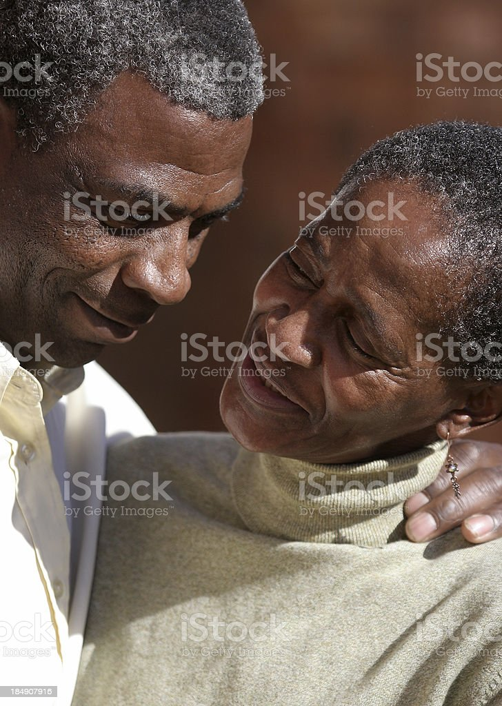 Mid Aged Tenderness three royalty-free stock photo