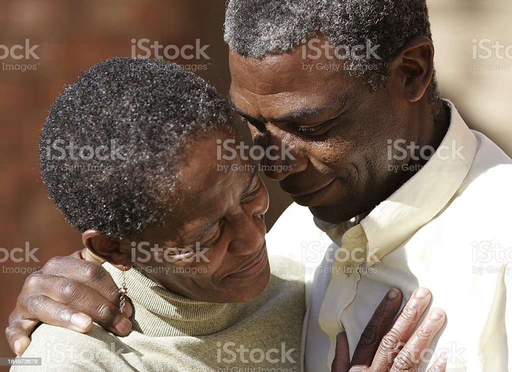 Mid Aged Tenderness two royalty-free stock photo