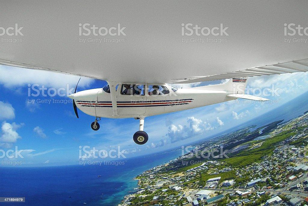 Mid air royalty-free stock photo