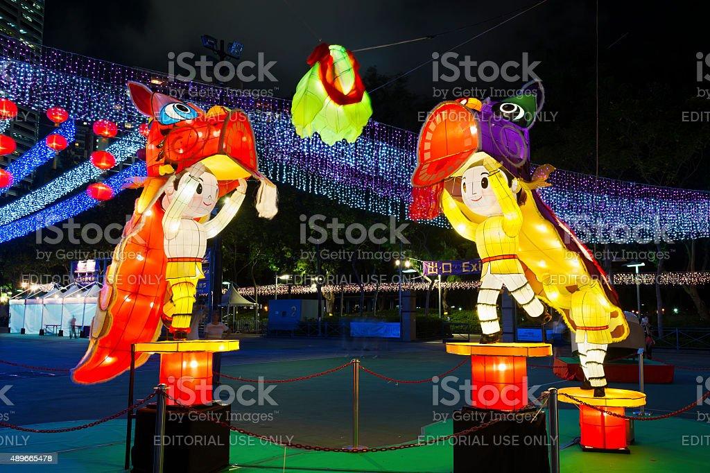 Mid Autumn Festival stock photo