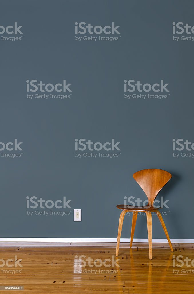 Mid Century Modern Chair royalty-free stock photo