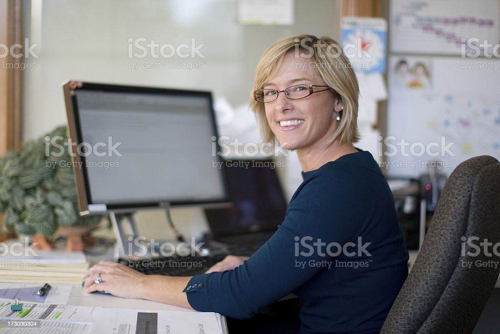 Mid thirties female professional stock photo