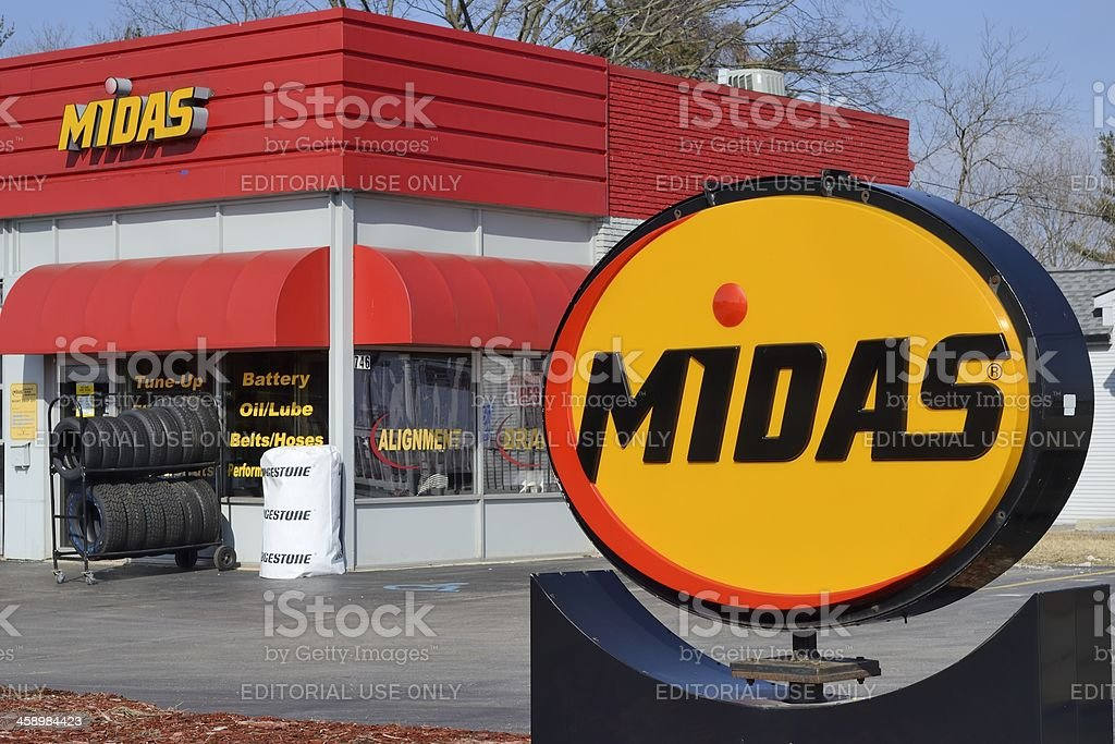 Midas stock photo
