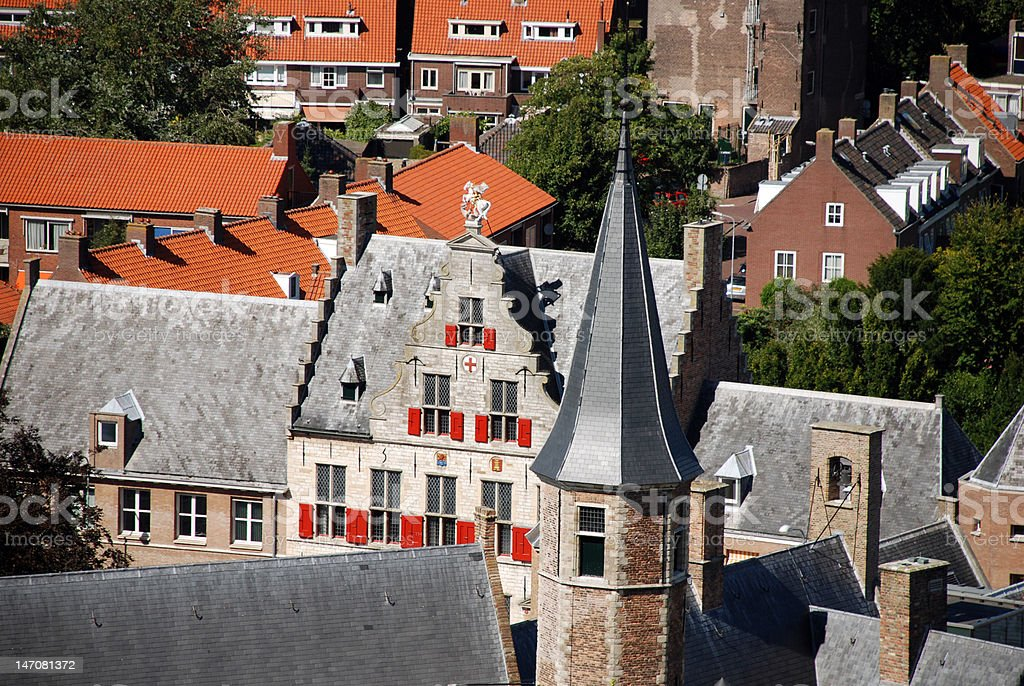 Middelburg royalty-free stock photo
