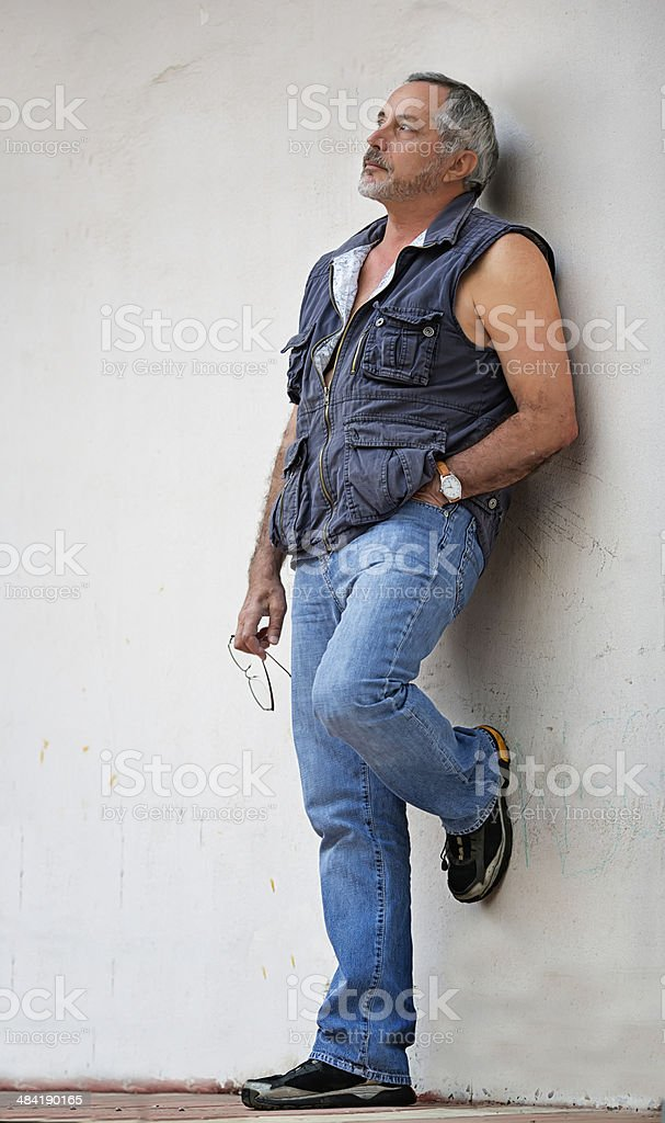 Middle age handsome Turkish man royalty-free stock photo