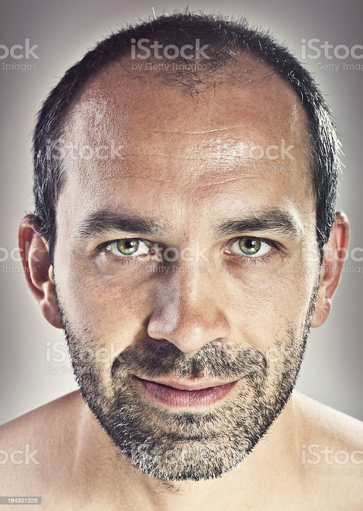 Middle age man portrait royalty-free stock photo