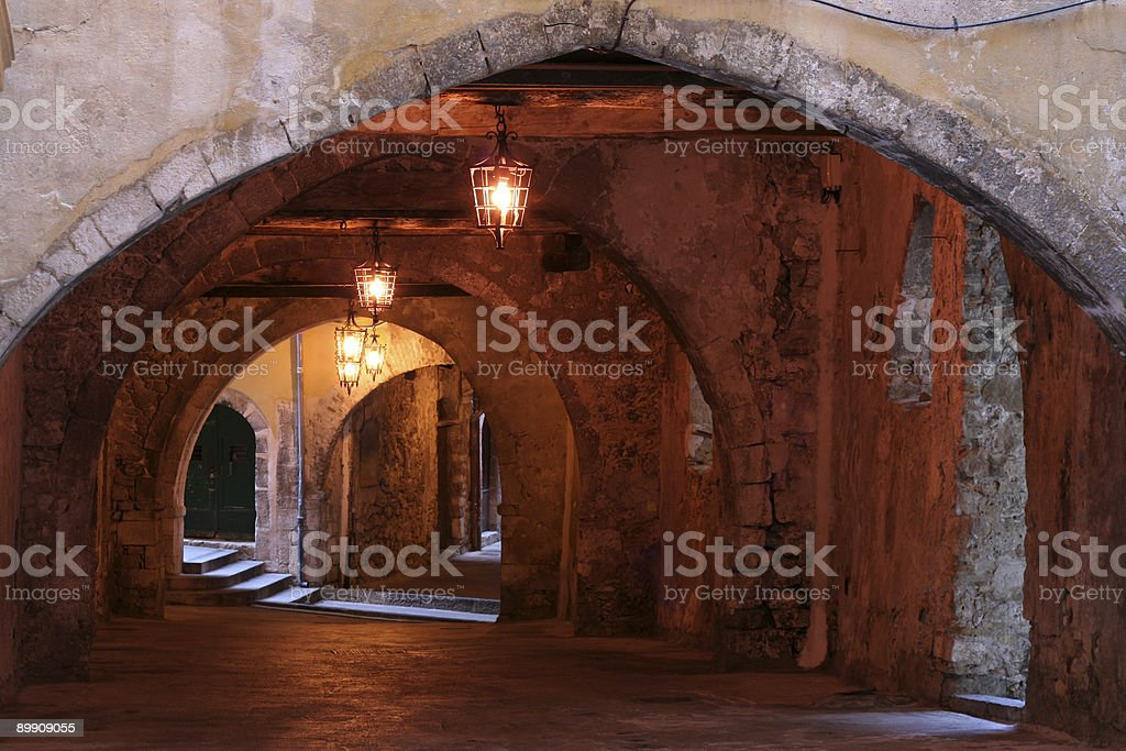 Middle age passage royalty-free stock photo