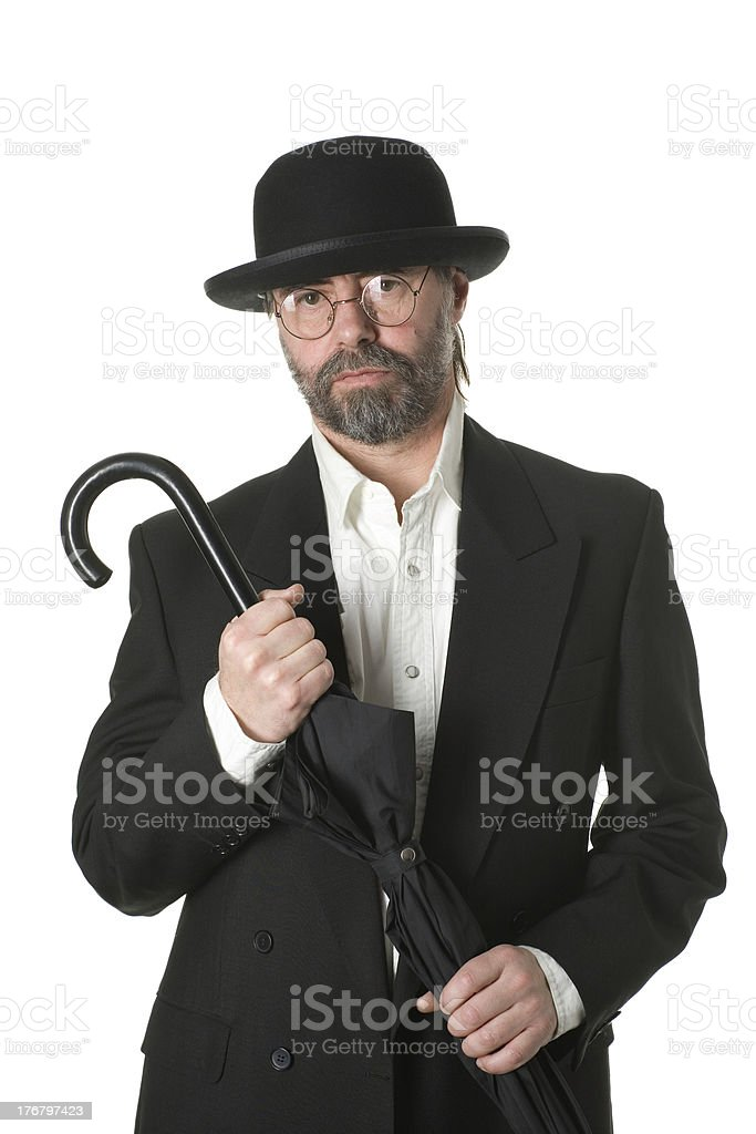 Middle aged businessman stock photo