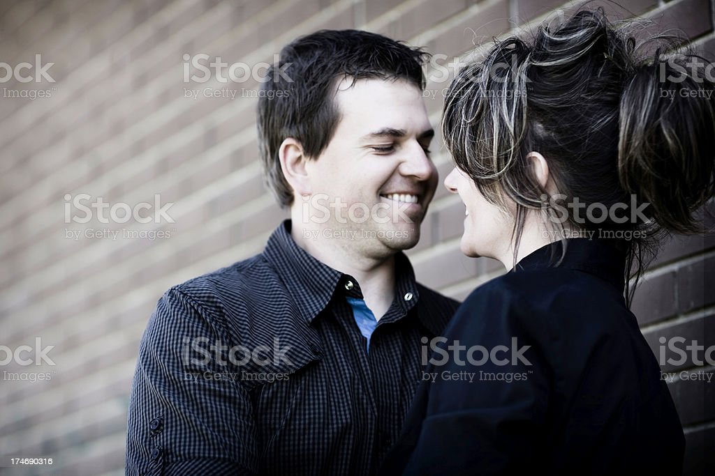 Middle Aged Couple stock photo