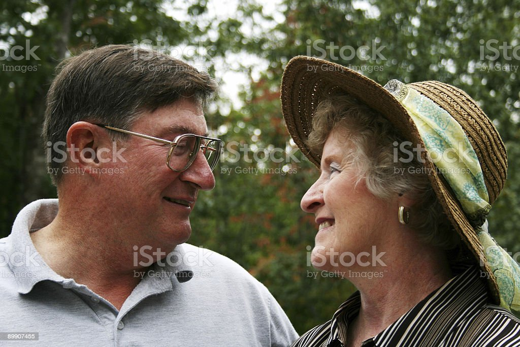 Middle Aged Couple royalty-free stock photo
