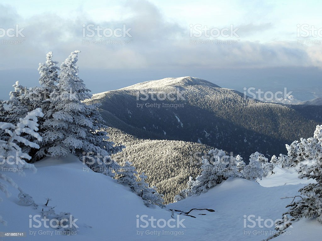 Middle Carter as Seen from Ca(r)ter Dome stock photo