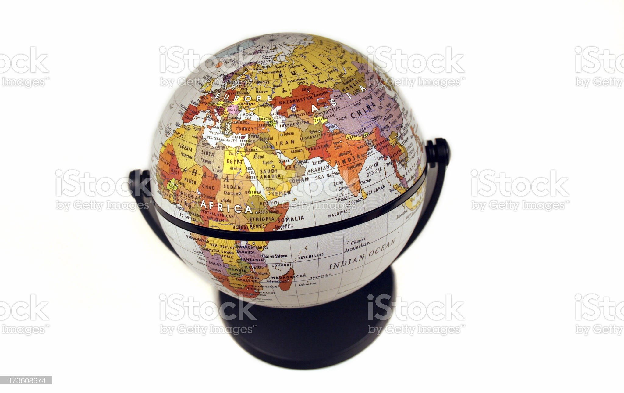 Middle East Overview royalty-free stock photo