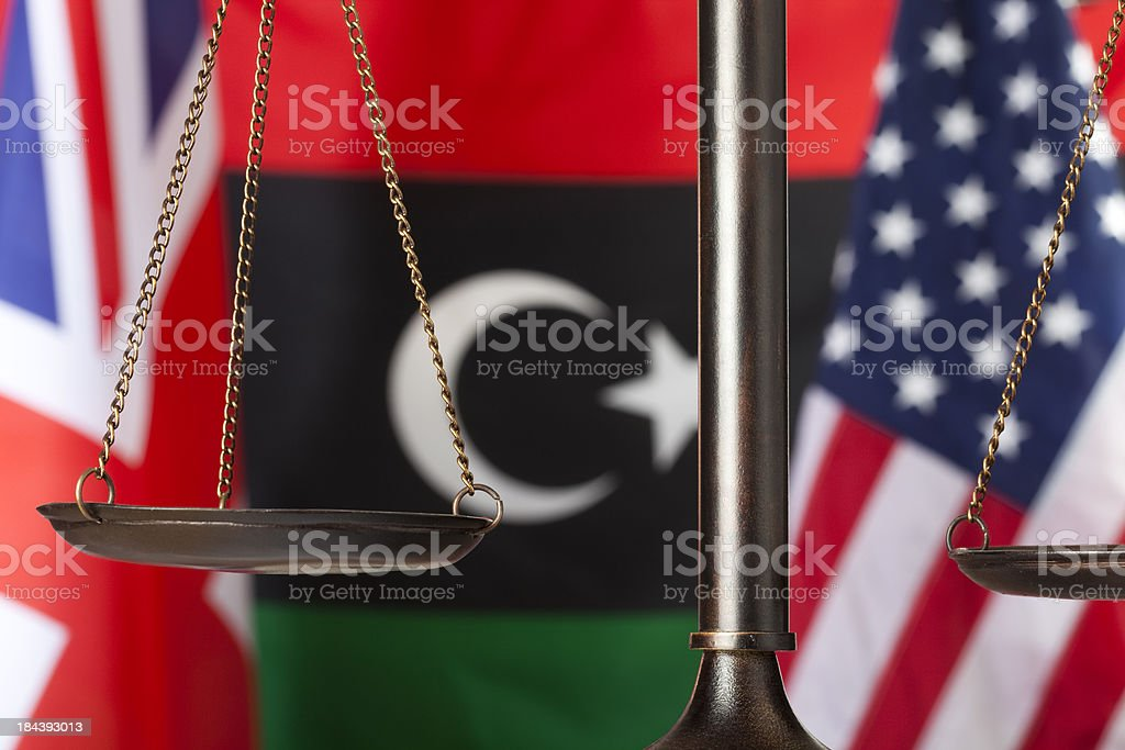 Middle East relations royalty-free stock photo