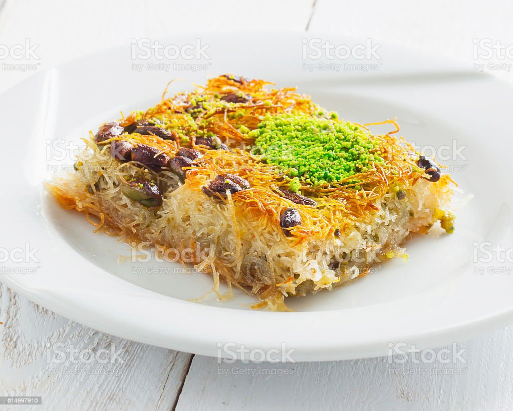 Middle East Sweet Dessert stock photo
