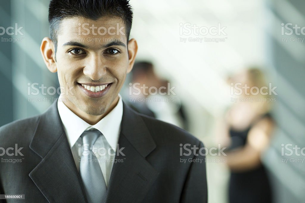 middle eastern businessman royalty-free stock photo