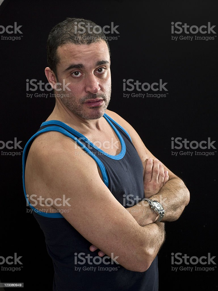 middle eastern man royalty-free stock photo