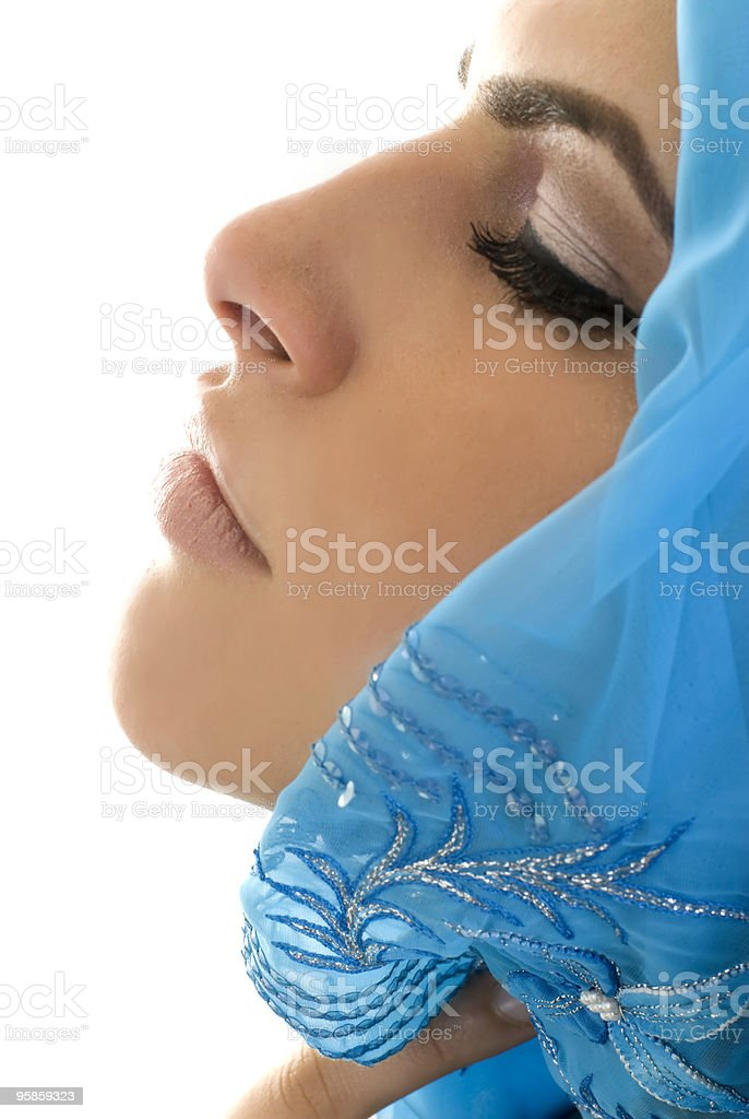 Middle Eastern Woman royalty-free stock photo