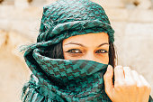 Middle Eastern Woman Portrait