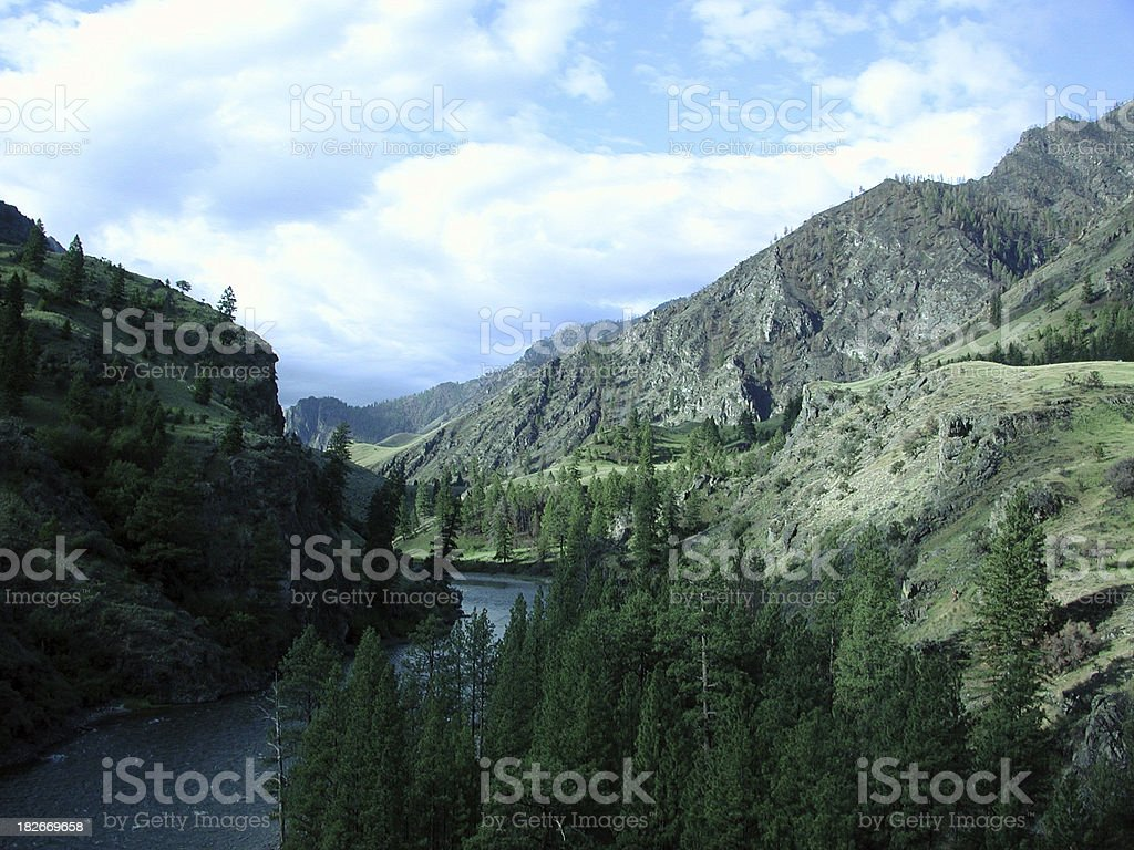 Middle Fork royalty-free stock photo