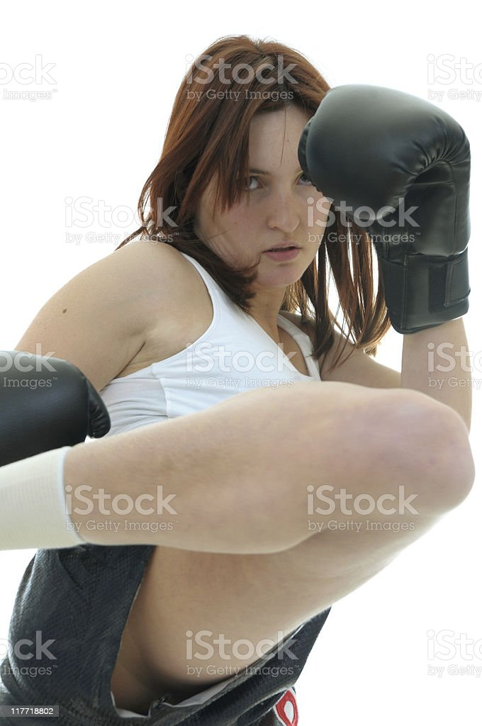 Middle rounds royalty-free stock photo