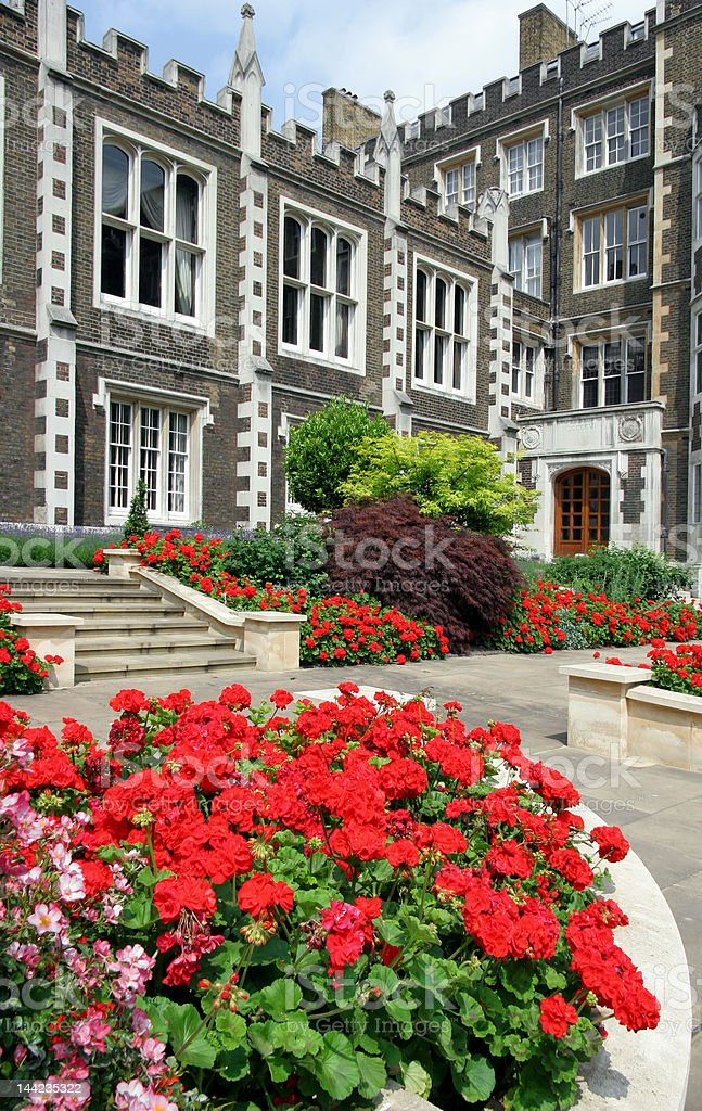 Middle Temple Hall (Inns of Court) stock photo