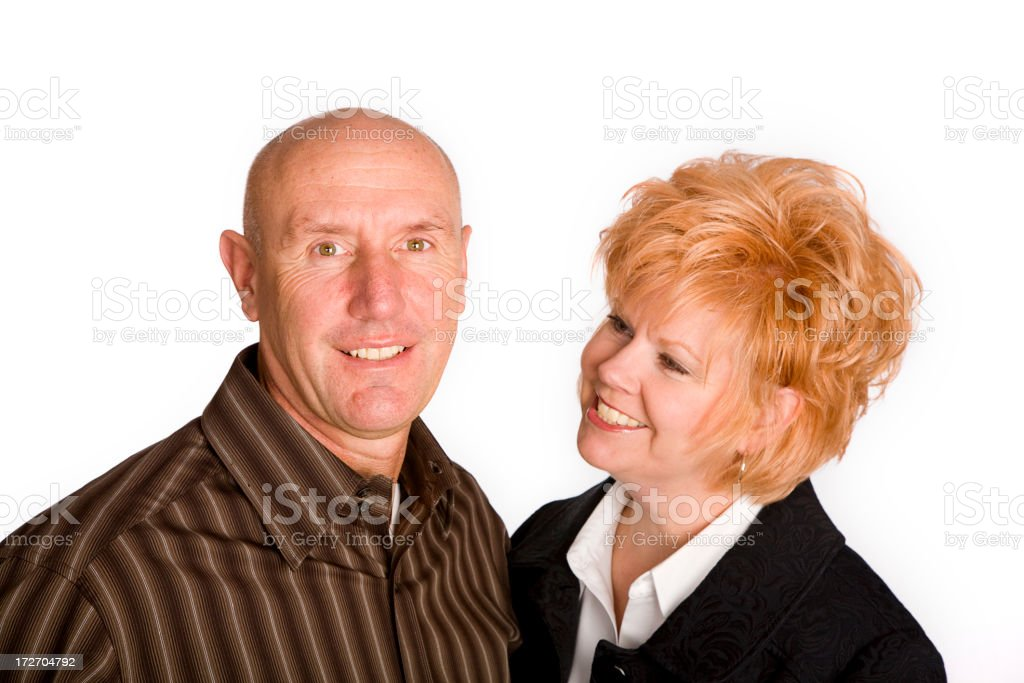 Middle-Aged Couple royalty-free stock photo