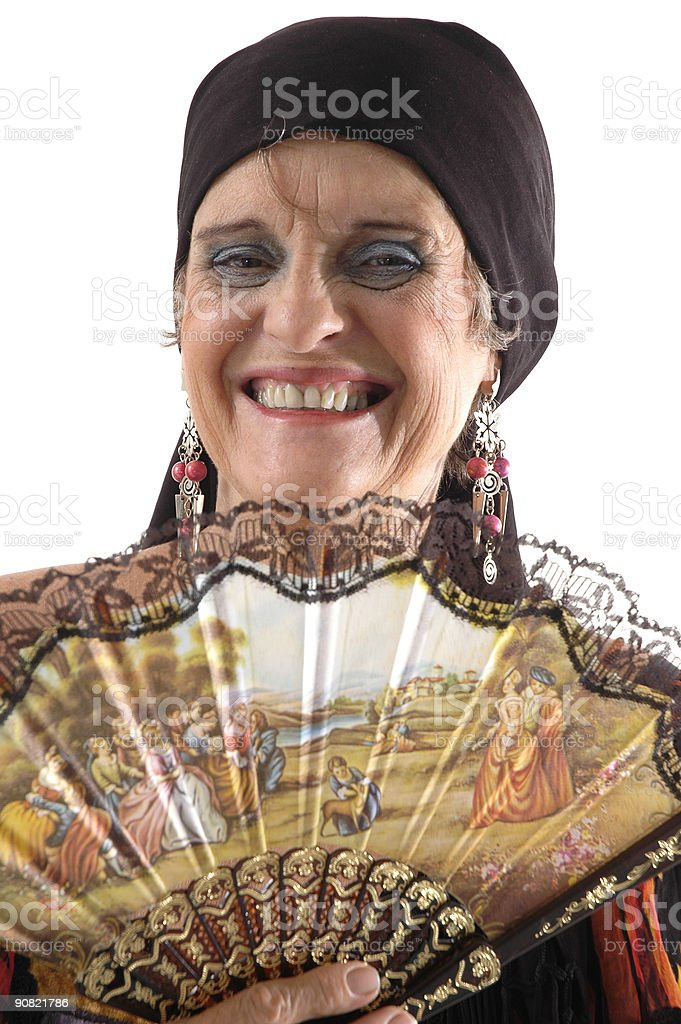 Middle-aged Happiness Woman royalty-free stock photo