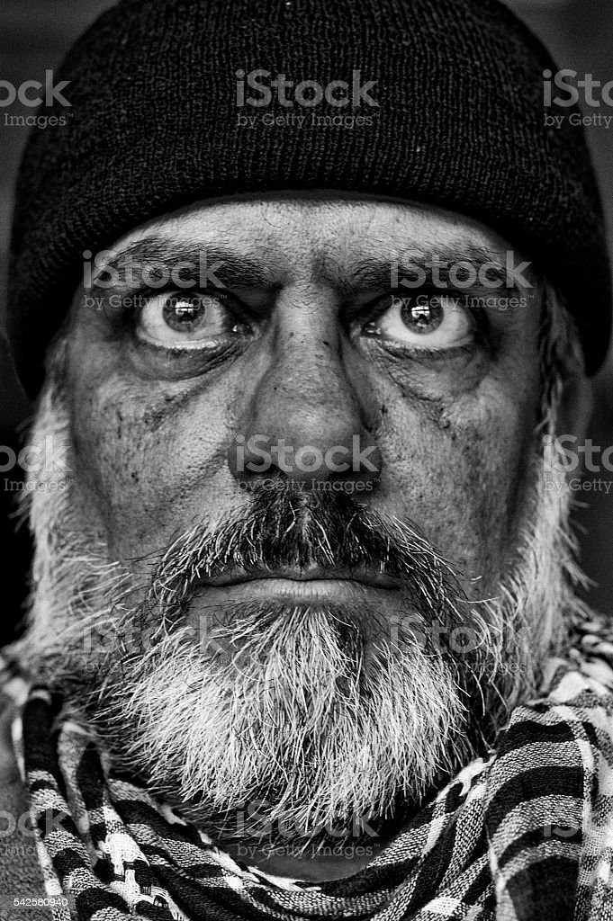 Middle-aged man stock photo