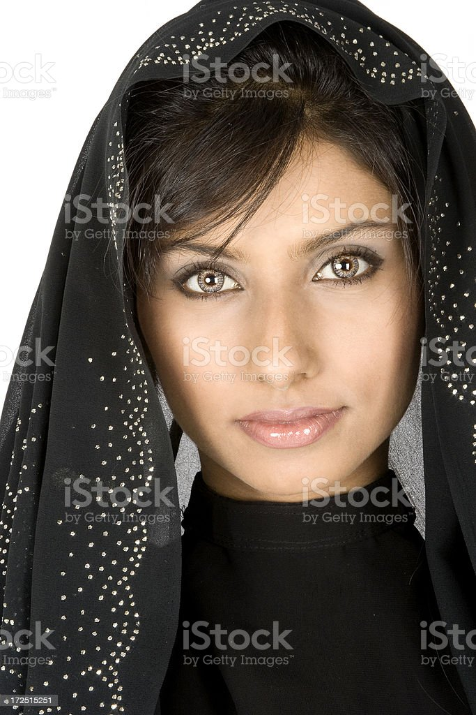 Middle-Eastern Woman royalty-free stock photo