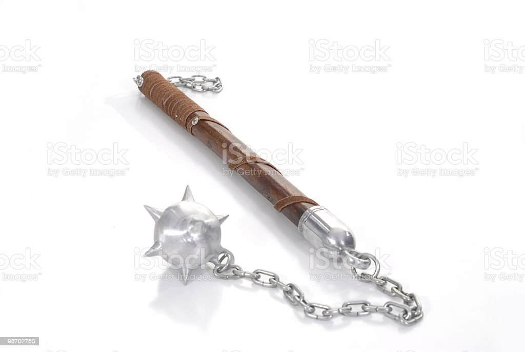Midevil weapon royalty-free stock photo