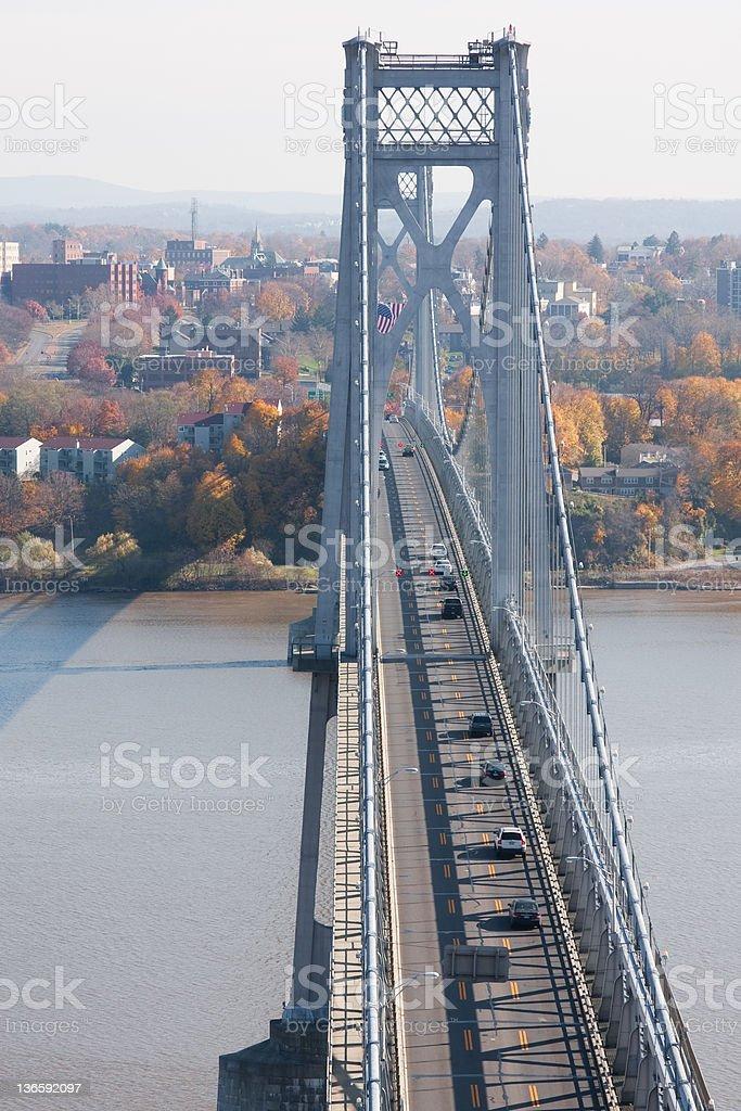 FDR Mid-Hudson Bridge stock photo