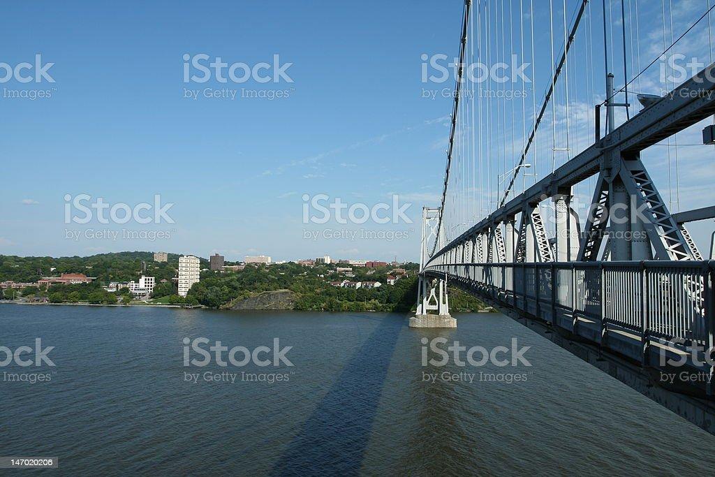 Mid-Hudson Bridge stock photo