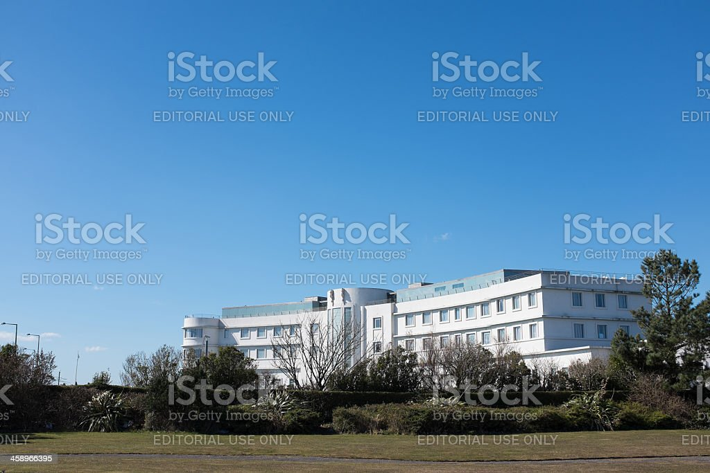 Midland Hotel Morecambe. royalty-free stock photo