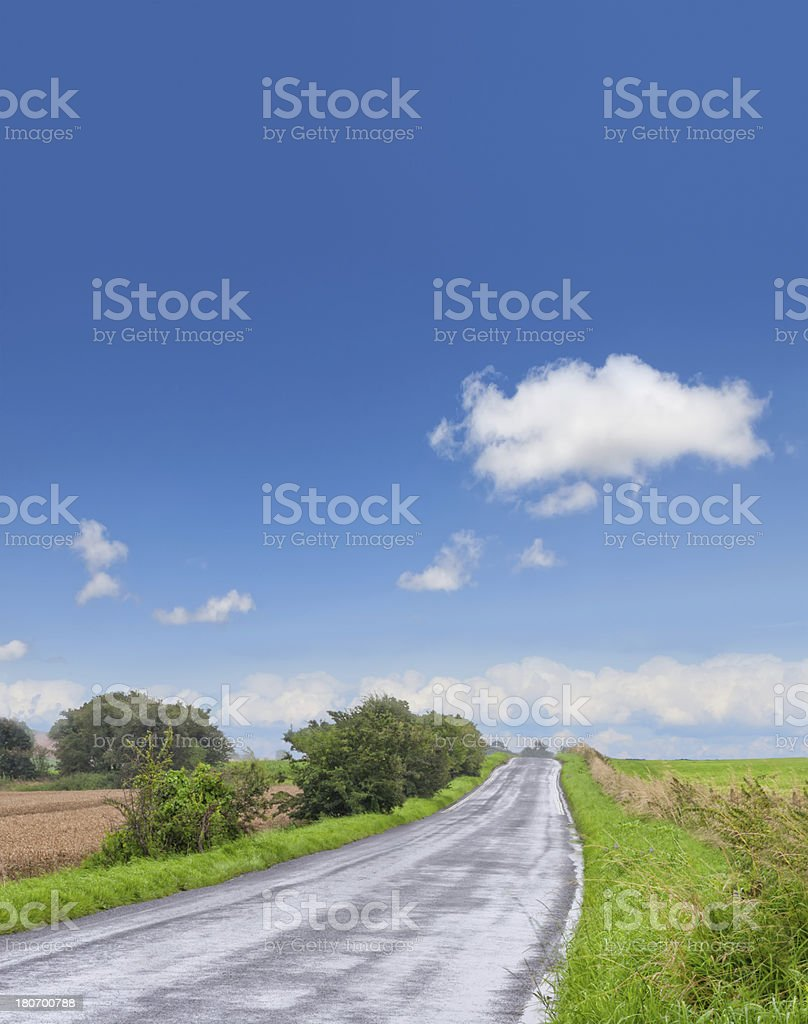Midlands countryside on a clear sunny day royalty-free stock photo