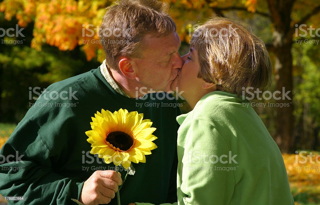 Midlife Series: Falling In Love Again royalty-free stock photo