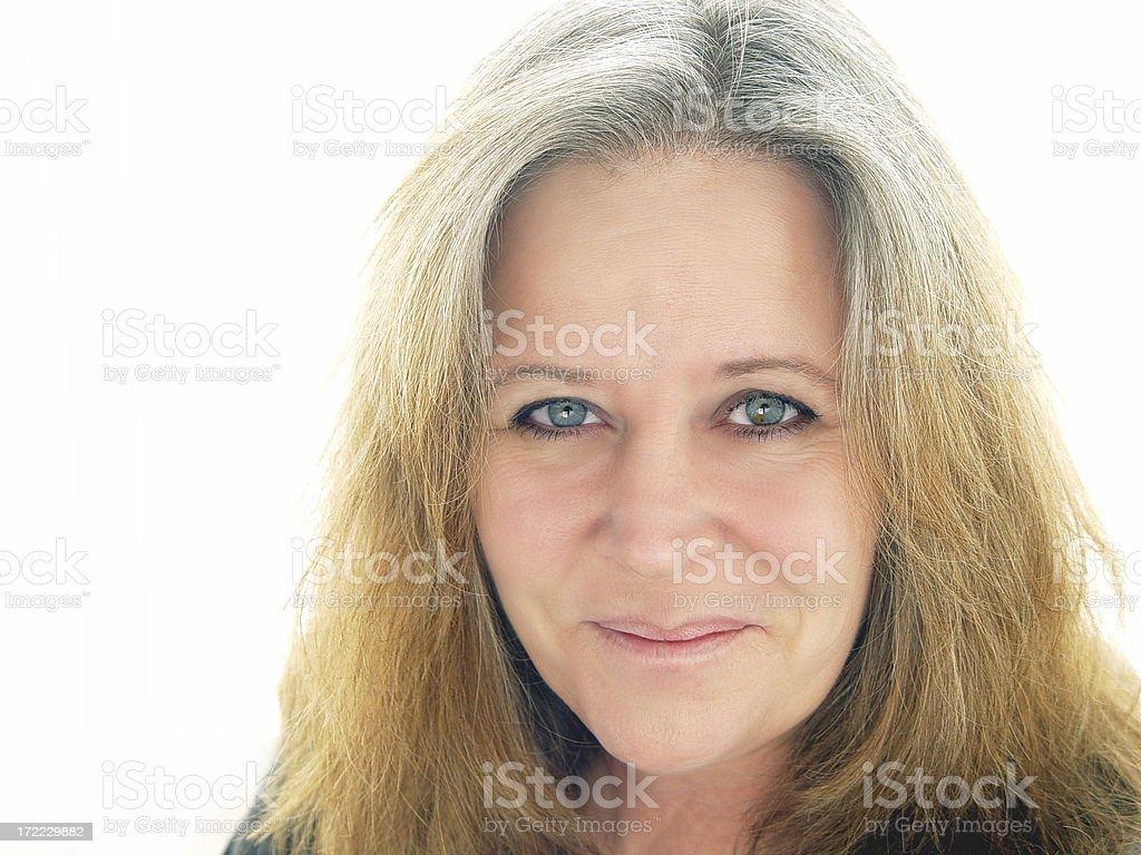 midlife - smile royalty-free stock photo