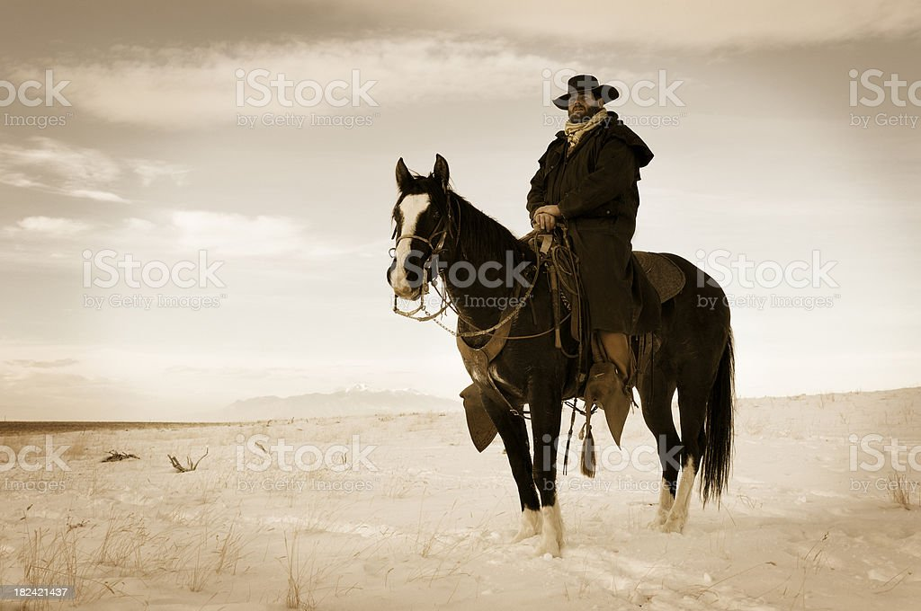 Midnight Cowboy royalty-free stock photo